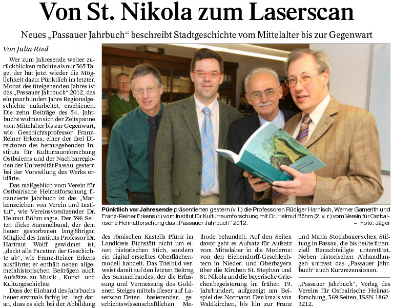 Von St. Nikola zum Laserscan
