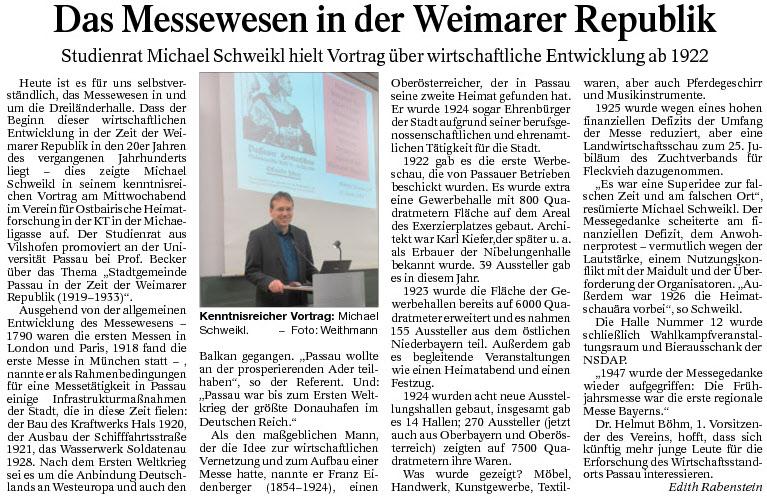 Das Messewesen in der Weimarer Republik