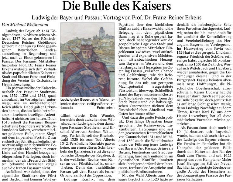 Die Bulle des Kaisers